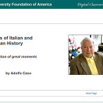 Aspects of Italian and American History